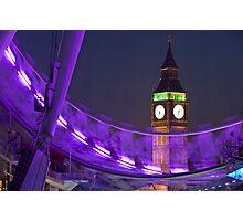 Big Ben London Eye (Alan Copson © 2008) Photographic Print