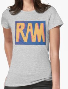 RAM pixel Womens Fitted T-Shirt