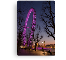 Big Ben London Eye (Alan Copson © 2008) Canvas Print