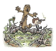 Han & Furball by BlueDogCartoons