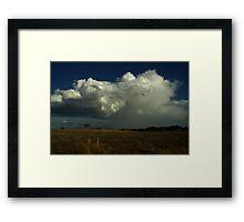 Thunder Cell  Framed Print