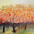 Autumn Path by Jose  DeLaRosa
