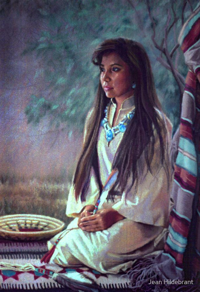 Navajo Beauty by Jean Hildebrant