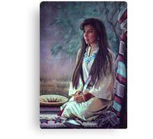 Navajo Beauty Canvas Print