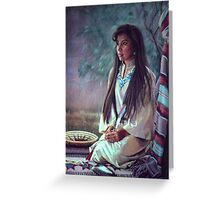Navajo Beauty Greeting Card