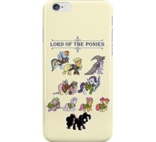 My little fellowship of the ring iPhone Case/Skin