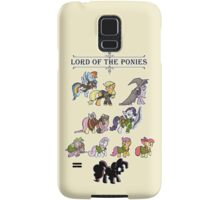 My little fellowship of the ring Samsung Galaxy Case/Skin