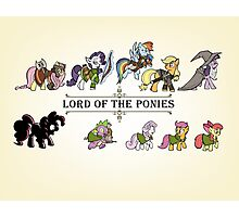 My little fellowship of the ring Photographic Print