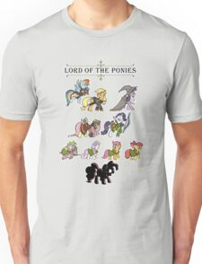 My little fellowship of the ring Unisex T-Shirt