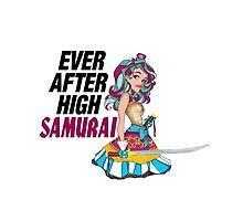 Ever After High Samurai by ramova