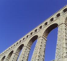 Roquefavour Bridge Aqueduc Roman by boldoflorine