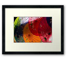 Asian Booth Framed Print