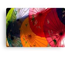 Asian Booth Canvas Print