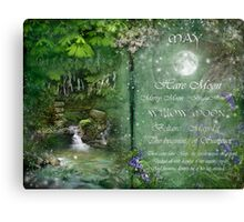 May - Willow Moon Canvas Print