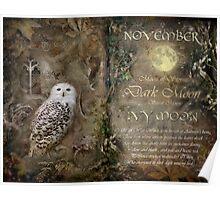 November - Ivy Moon Poster