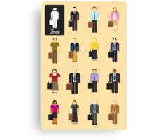 The Office TV Show Netflix Canvas Print
