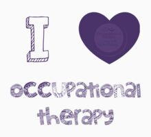 I love occupational therapy Kids Clothes