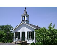 Country Chapel Photographic Print