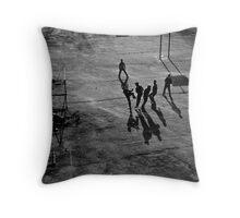 I-love-football Throw Pillow