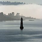 Lighthouse in the Fog by Katja Fønss