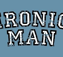 IRONIC MAN Vintage White by theshirtshops