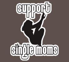 Single Moms t-shirt by valizi