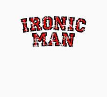 IRONIC MAN Vintage Red Unisex T-Shirt