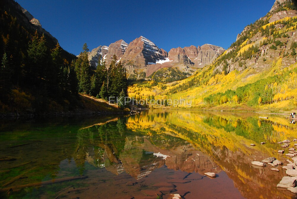 Mirrored Fall Classic by EKPhotography