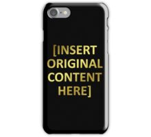 The Golden Rule iPhone Case/Skin