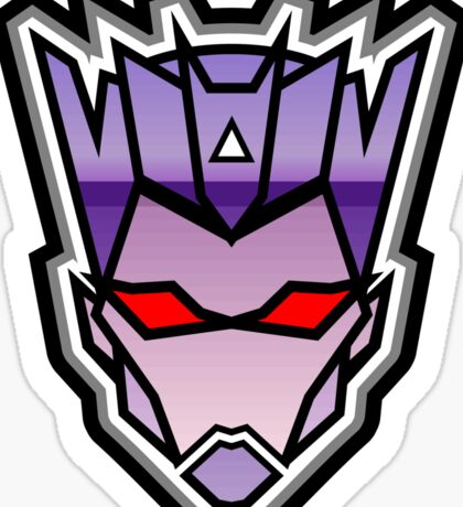 TFxGB - Evil Gozerian (Faction Head) Horizon Lines Sticker