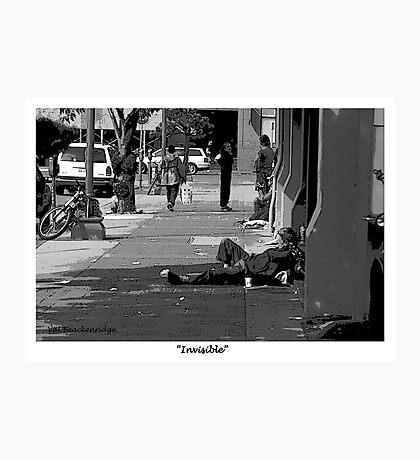 """Invisible"" Photographic Print"