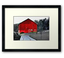 Compton House Barn II Framed Print