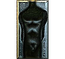 Obsidian Man Photographic Print