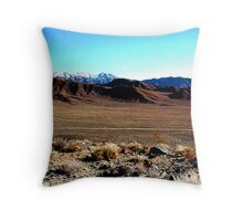 Isolated Death Valley Throw Pillow