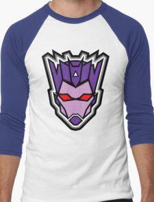 TFxGB - Evil Gozerian (Faction Head) Flat Colors Men's Baseball ¾ T-Shirt