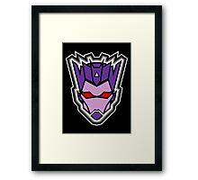 TFxGB - Evil Gozerian (Faction Head) Flat Colors Framed Print
