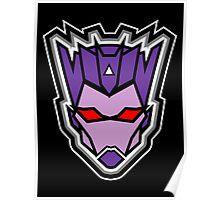 TFxGB - Evil Gozerian (Faction Head) Flat Colors Poster