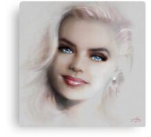 Blue Eyes Blond  Canvas Print