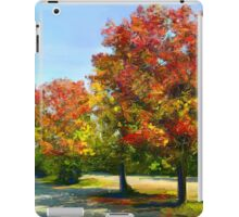 Autumn Trees iPad Case/Skin