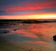 Red Flash Over The Skerries by Blackgull