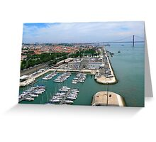 Belém Docks Greeting Card