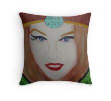 Princess Kylie Minogue Throw Pillow