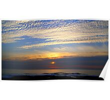 Autumn Sky~Sea Scapes Poster