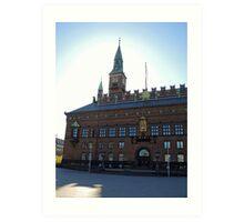 Copenhagen City Hall Art Print