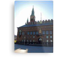 Copenhagen City Hall Metal Print