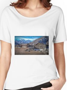Mountain Hut Women's Relaxed Fit T-Shirt