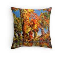 Dream of the Tree Throw Pillow