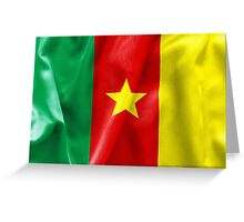 Cameroon Flag Greeting Card