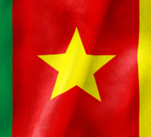 Cameroon Flag Sticker