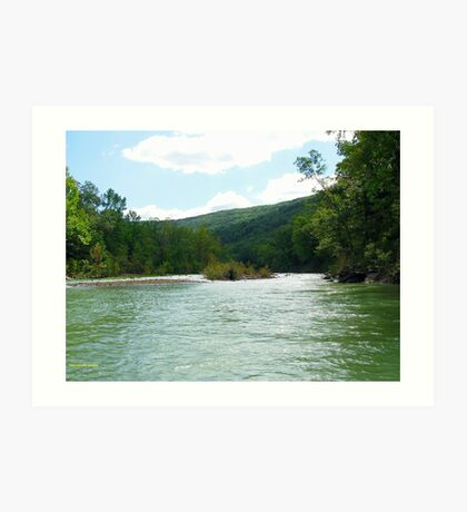 Ozarks in Green Art Print